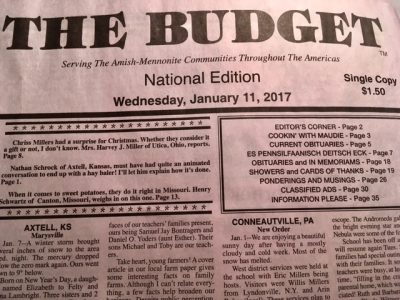 The Buzz about The BUDGET