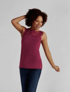 Reversible Top Wild Berry