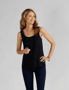 Reversible Top Black