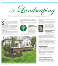 A Landscaping Facelift