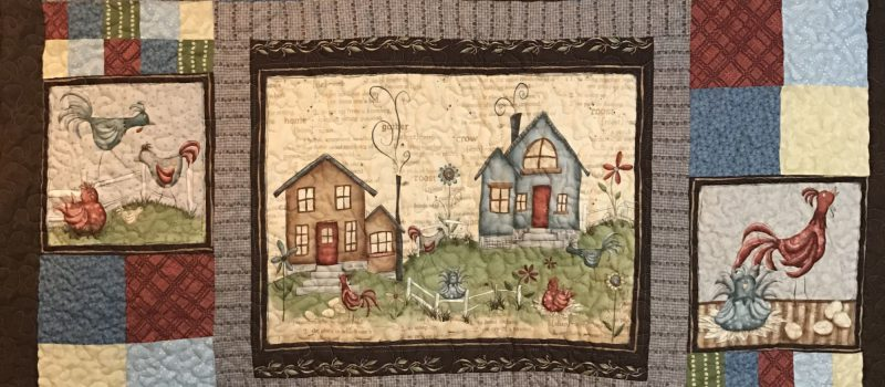 Panel Projects - Whimsy Rooster