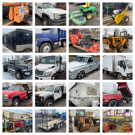 MOVED TO 6PM-ONLINE ONLY-14th Annual Spring Equipment/Machinery Auction-Cleveland