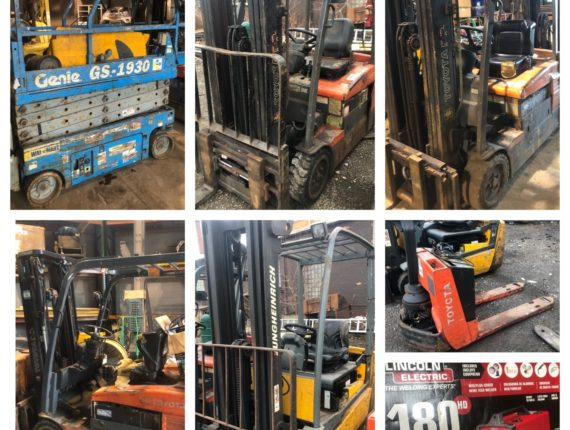 2020 Annual Spring Equipment/Machinery Auction-THIS SPRING!