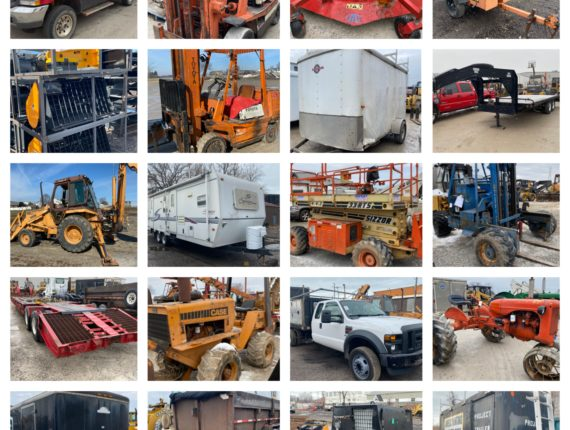 Live/Online 2020 Annual Spring Equipment/Machinery Auction-Cleveland