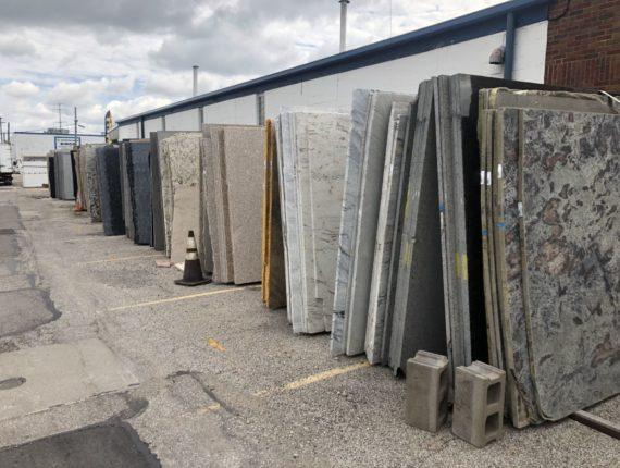 Live/Online Large 750+ Full Granite Slab Auction-Cleveland