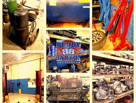 Live/Online Absolute Auto Shop Retirement Auction #2