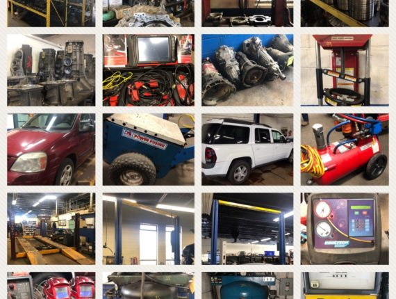 Live/Online Absolute Auto Shop Retirement Auction #1