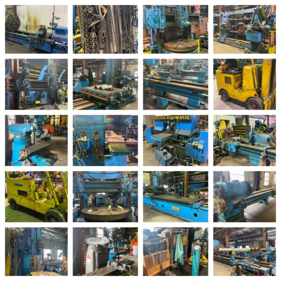 Live/Online-Absolute Industrial Machine Shop Auction-Dayton