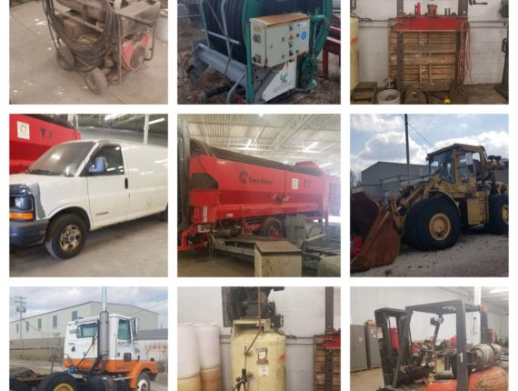 Absolute Recycling Machinery & Equipment Auction