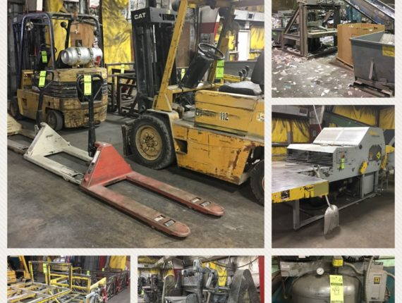 Absolute Online-Only Industrial Machinery Auction- Starts 12/18/17 & Ends 1/22/18