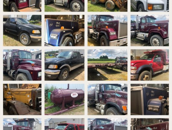 Absolute Oil/Gas Field Service Equipment Auction