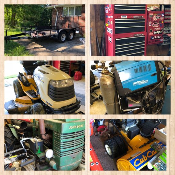 Coming Soon! Online Only Household/Machinery Auction