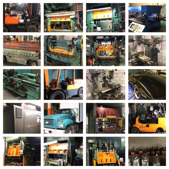 (Day 2) The 2 Day Major Stamping Facility Absolute Auction-Large Machinery, Rolling Stock, Equipment