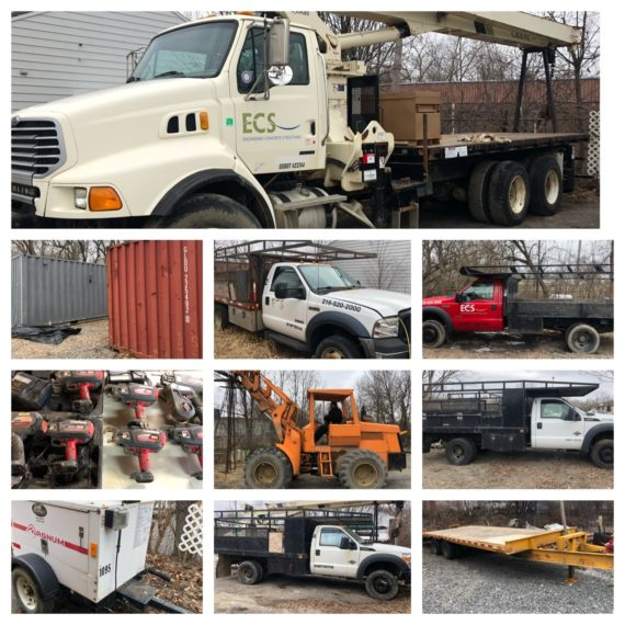Engineered Concrete Structures Corp Auction