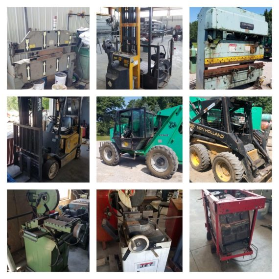 Equipment/Machinery Auction-Middlefield
