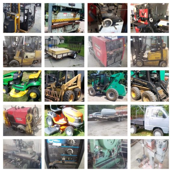 Equipment/Machinery Auction-Windsor