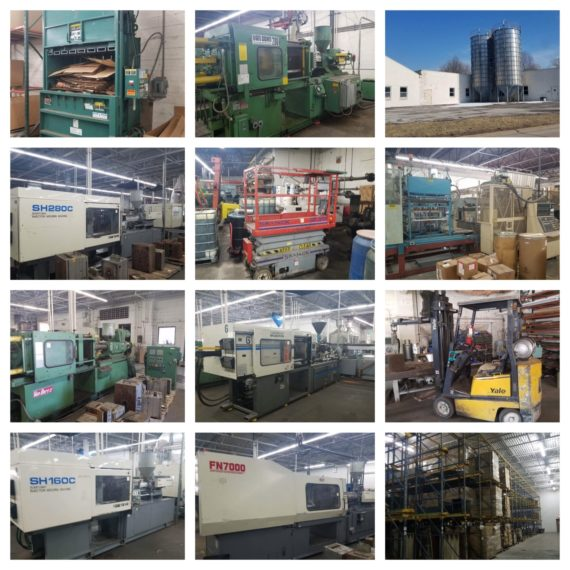 Injection Molding Plant Machinery/Equipment Day 2 Auction-Mentor