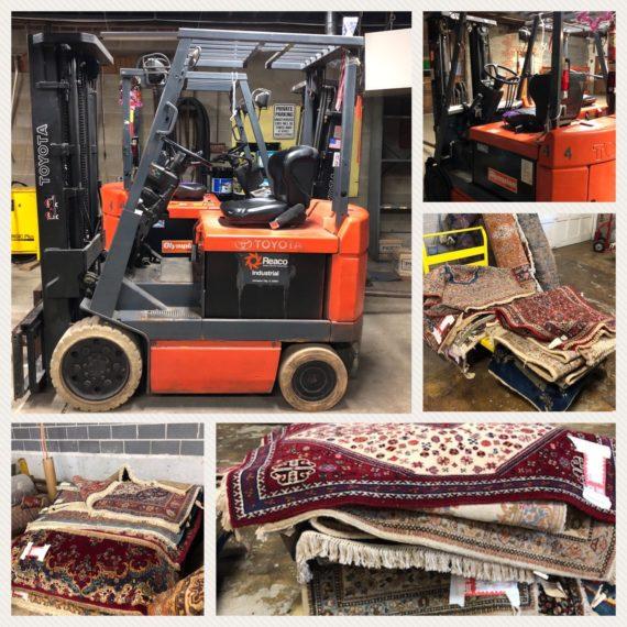 Forklifts & Orinetal Rug Company Auction TBA