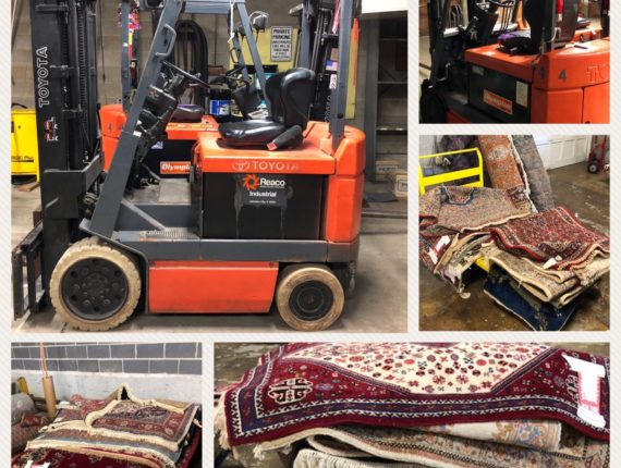 Forklifts & Orinetal Rug Company Auction TBA
