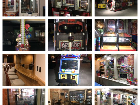 Live/Online-Greater Cleveland Area Modern Arcade & Bar Auction