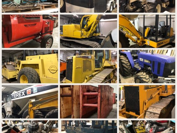 Heavy Equipment Auction Coming in June!