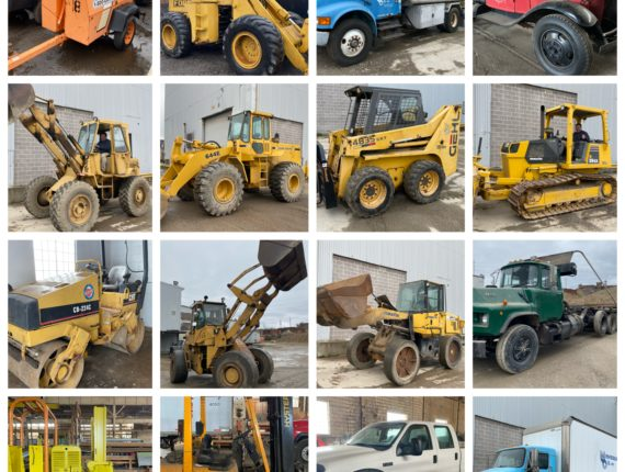 Live/Online-Heavy Equip./Machinery/Tanker Trucks/Trailers Auction-Cleveland