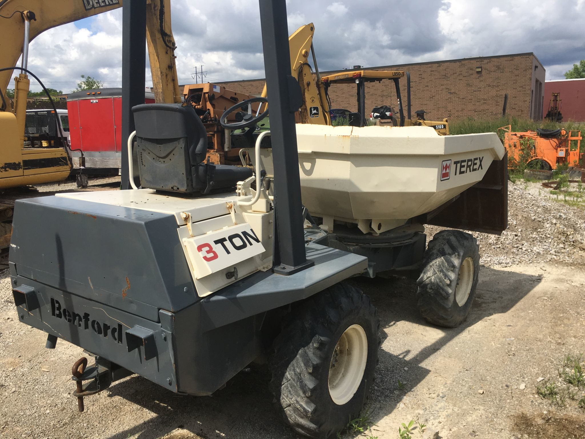 Terex 3 ton concrete transport buggy