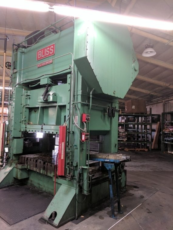 Extremely Large, 2 Day Major Stamping Facility Absolute Auction