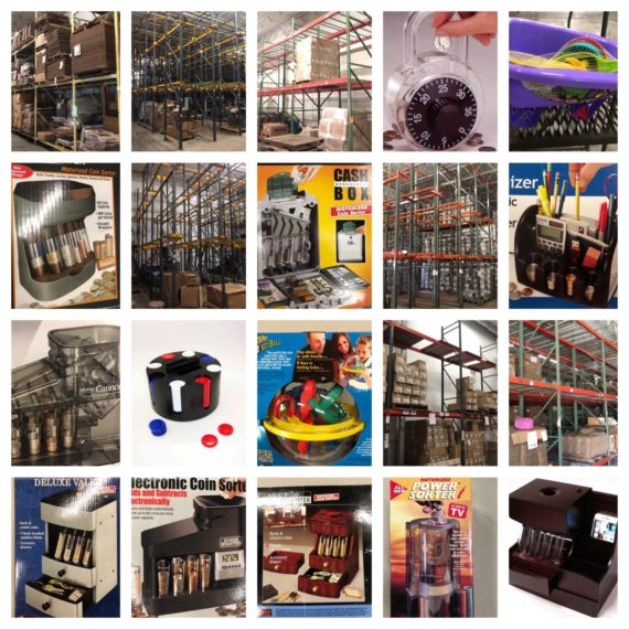 Large Finished Retail & Racking From Injection Mold Plant Day 1 Auction-Mentor