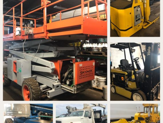 Live/Online Quarterly Machinery/Equip Auction