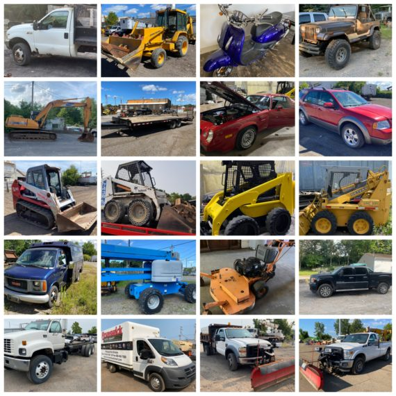 Live/Online End of Summer Equipment Consignment Auction 2.0-Cleveland