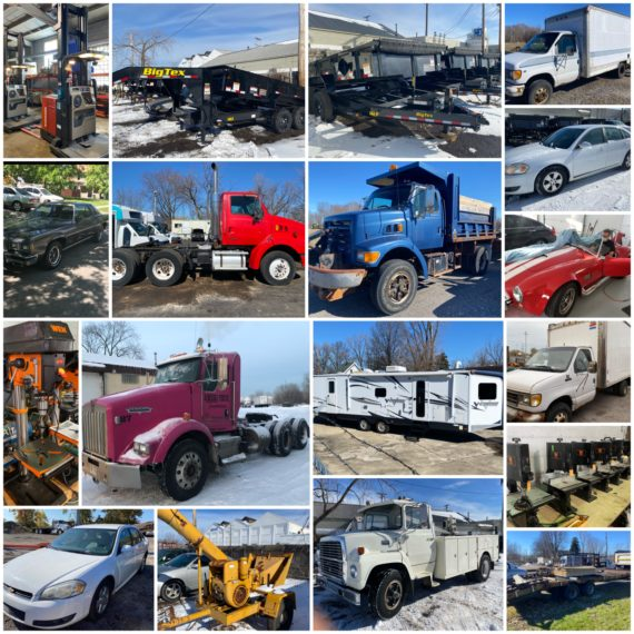 LIVE/Online 15th Annual Spring Lawn/Garden/Equipment/Machinery Consignment Auction-Cleveland