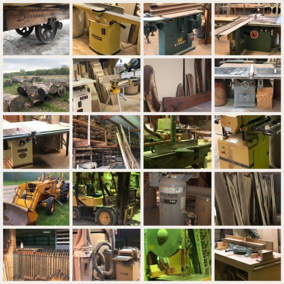 Live/Online Custom Hardwood Designer, Lumber & Machinery