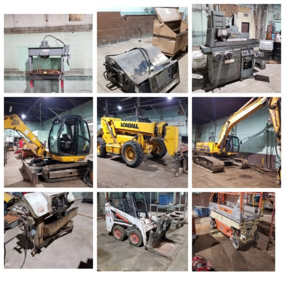 Live/Online Demo/Heavy Equipment Auction-Lorain