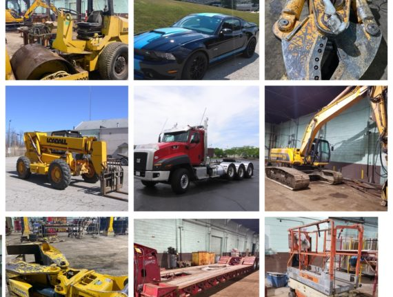 LIVE ONSITE w/ Online Bidding Demo/Heavy Equipment Auction-Lorain