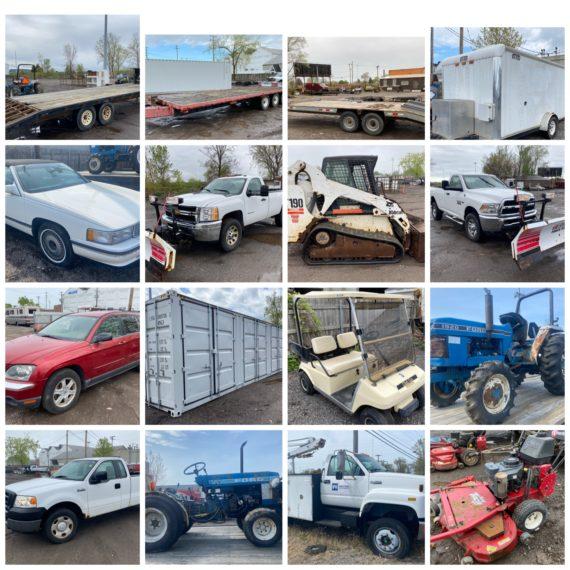 Live/Online Spring Equipment Auction #2- Cleveland