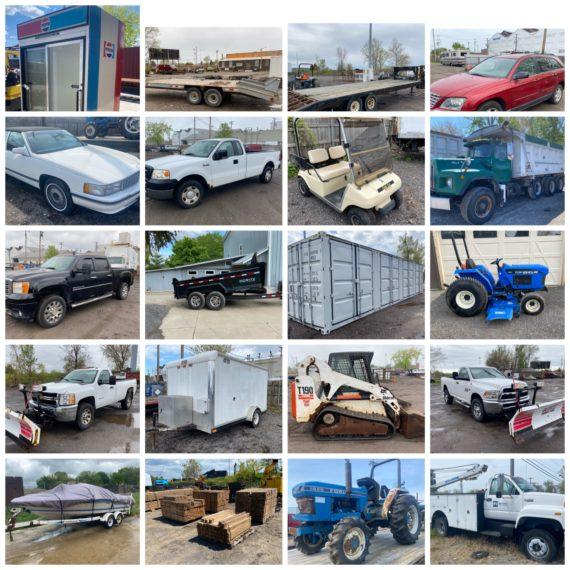 LIVE/Online Spring Equipment Auction-Cleveland