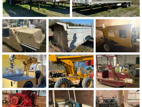 Live/Online Summer Quarterly Equipment/Machinery Auction-Cleveland