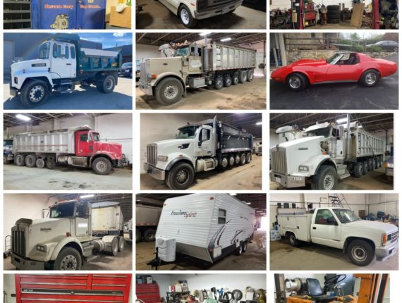 LIVE Onsite w/ Online Bidding Commercial Trucking Fleet & Equipment Auction-North Randall
