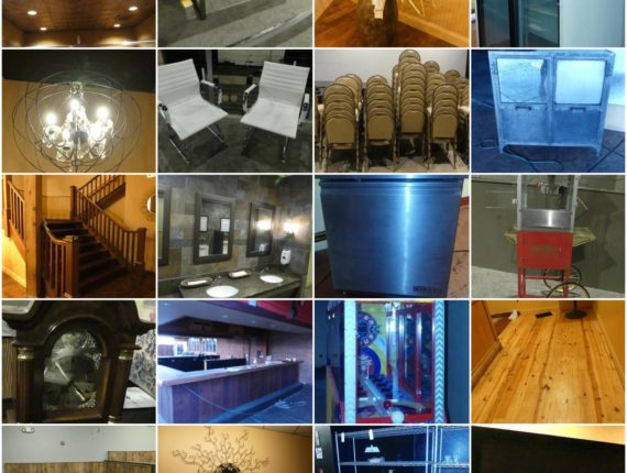 Online-Only Mayland Theater/Play Arcade Architectural Salvage Auction-Mayfield Hts