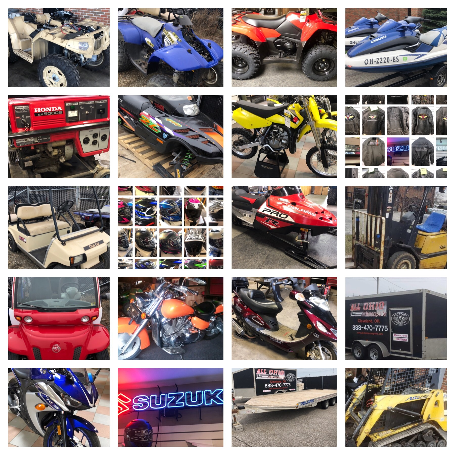 All Ohio Motorsport Inventory Reduction Buddy Barton Auctioneer