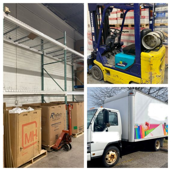 Postponed!-Live/Online-Multiple Forklifts, Trucks, Pallet Racking & More Auction -Cleveland