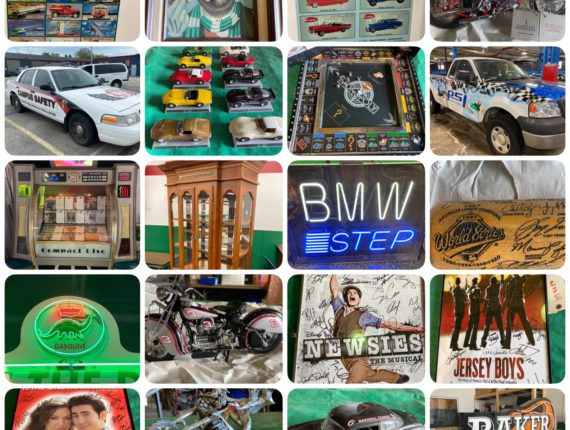 Online-Only Auto Memorabilia/Oil/Gas Collectibles, Broadway/Movie Posters & More-Cleveland