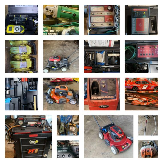 Online-Only Automotive Tools, Lawn/Garden Equipment Auction-Cleveland