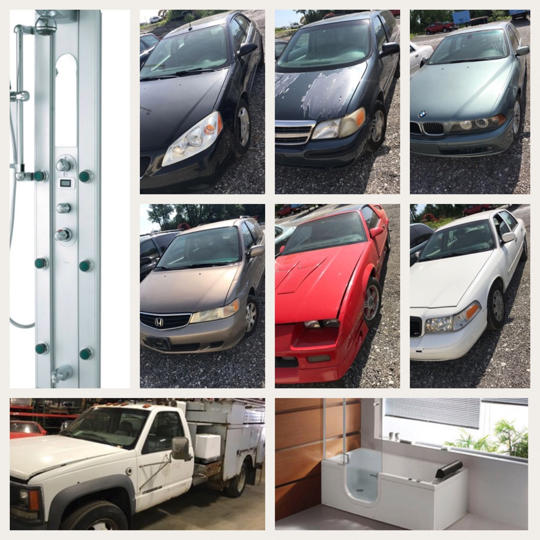 Online-Only Autos, New Showers/Tubs, Tools & | Buddy Barton Auctioneer