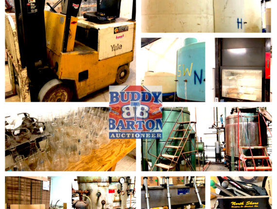 Online-Only Chemical Plant Machinery & Equipment Auction
