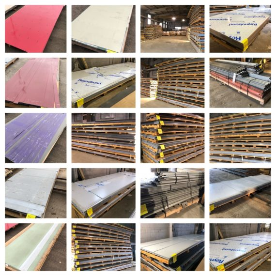 Online-Only ACM Composite Panels & Roofing Material Supply-Cleveland