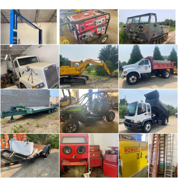 Online-Only Concrete Contractor Equipment Auction-Mentor