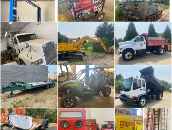 TBA Online-Only Concrete Contractor Equipment Auction-Mentor