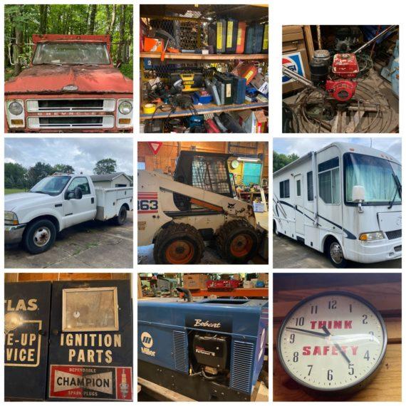 TBA Online-Only Concrete Contractor Retirement Auction-Boston Hts